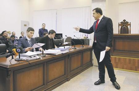 Саакашвили сказал, когда проведет следующий марш заимпичмент Порошенко