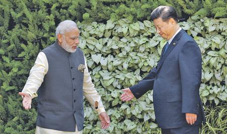 Премьер Индии ипредседатель Китая договорились поддерживать мир награнице