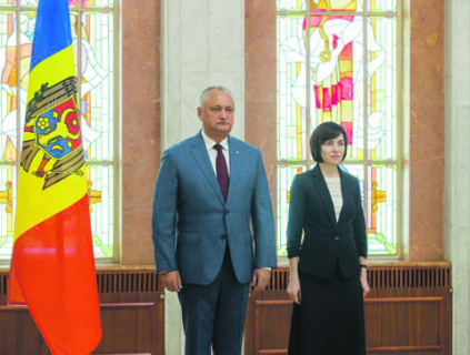 молдавия, полдитический кризис, санду, додон, правительство