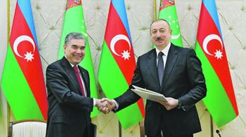 туркменистан, азербайджан, транзит, газ, каспий, ес