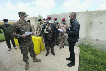 ирак, пандемия, коронавирус, американские военные