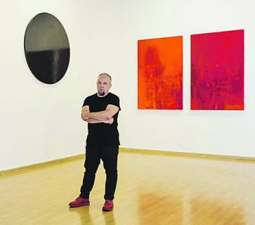 выставка, андрей волков, интервью, абстракционизм