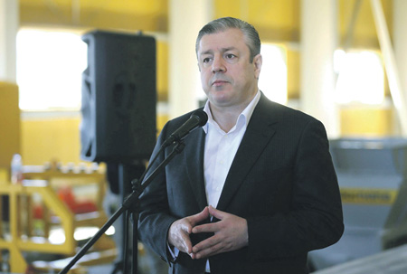 Премьер Грузии призвал курегулированию отношений сРоссией