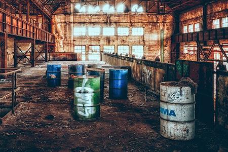 промышленность, производство, отходы, мусор, экология