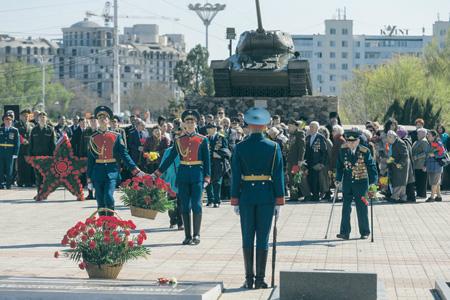 В Приднестровье не забывают тех, кто погиб во время вооруженного конфликта в 1992 году. Фото с сайта www.president.gospmr.org