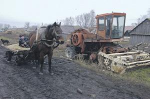 Китайская пресса пишет о деиндустриализации и упадке сельского хозяйства в России.Фото Александра Шалгина (НГ-фото)