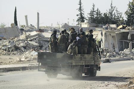 Повстанцы сконцентрировались в восточных кварталах Алеппо.Фото Reuters