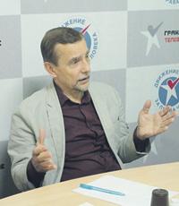 Лев Пономарев не планирует быть лидером новой организации. Фото со страницы Градус ТВ в социальной сети Facebook