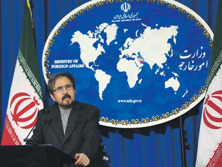 Официальный представитель МИД Ирана Бахрам Касеми пояснил, что участие его страны в сирийском конфликте будет длиться столько, сколько Дамаск будет нуждаться в помощи.Фото с сайта www.mfa.gov.ir