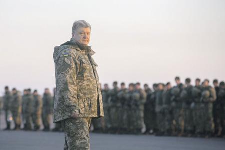 Петр Порошенко начинает новый отсчет в кампании на юго-востоке Украины.Фото с сайта www.president.gov.ua