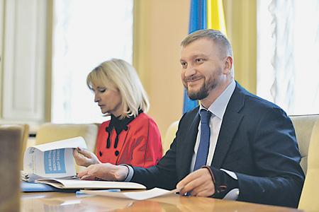 """Министр юстиции Украины Павел Петренко хочет отнять у """"Газпрома"""" самое дорогое. Фото с сайта www.minjust.gov.ua"""