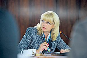 Татьяна Голикова считает пересмотр бюджета преждевременным.Фото с официального сайта правительства РФ