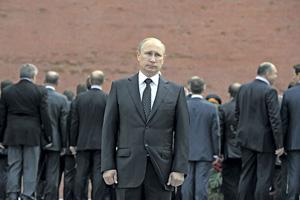 Одиночество во власти.Фото Reuters