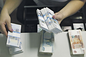 У российской валюты сейчас тяжелые времена.Фото Reuters
