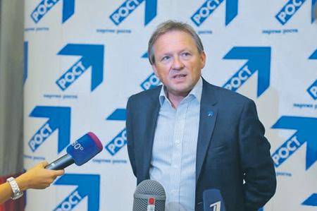 Бизнес-омбудсмен Борис Титов теперь защищает не только программу Столыпинского клуба, но и вообще все стратегии. Фото с сайта www.rost.ru