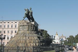 В Киеве готовятся к новому союзу с Россией.Фото Владимира Захарина