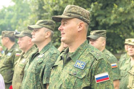 Российским миротворцам доверяют в Приднестровье. Фото с сайта www.president.gospmr.org