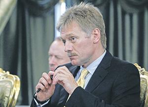 Дмитрий Песков не исключил определенных корректировок майских указов.Фото Reuters