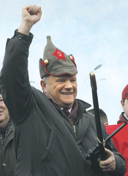 Ностальгия по прежним временам для лидера КПРФ почему-то важнее устремлений в будущее. Фото Reuters