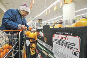 Еще недавно турецкие овощи заполняли все российские супермаркеты.Фото Reuters