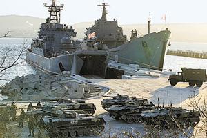 Подразделения ЧФ приведены в повышенную боеготовность. Фото с официального сайта Министерства обороны РФ