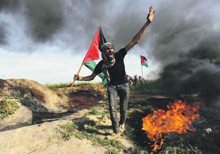 Интифада в секторе Газа создает проблемы как для Палестины, так и для Израиля, претендующих на месторождения углеводородов в Средиземном море.  Фото Reuters