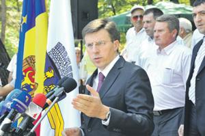 Дорин Киртоакэ остался мэром Кишинева на третий срок. Фото с сайта www.chisinau.md