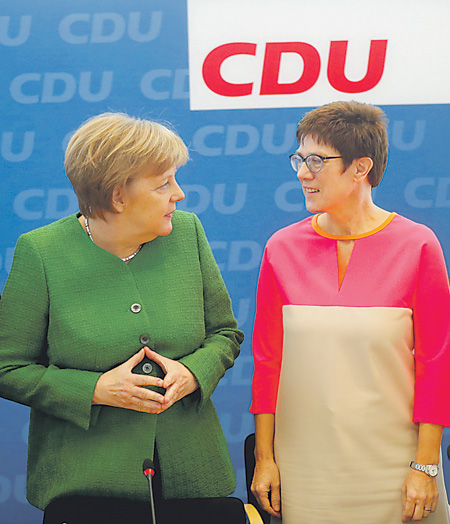 Стали известны претенденты партии Меркель напосты в руководстве — ФРГ