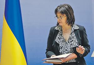 Глава украинского Минфина Наталия Яресько готова завершить переговоры с иностранными кредиторами уже в мае.Фото Reuters