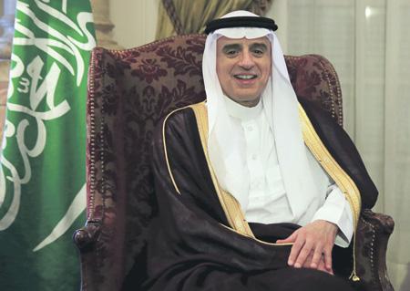 Глава саудовского МИДа Адель аль-Джубейр считает, что Катару нужно выбрать, с кем идти дальше.Фото Reuters