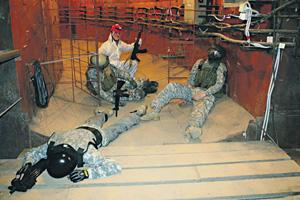Вместо бомбоубежища теперь на Таганке Музей холодной войны – с лекциями, развлечениями  и интересной кухней.Фото с официального сайта комплекса «Бункер 42»