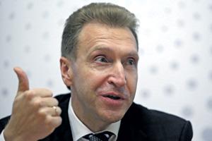 Первый вице-премьер Игорь Шувалов считает, что России санкции могут пойти на пользу – так же как и Китаю в 1989 году.Фото Reuters