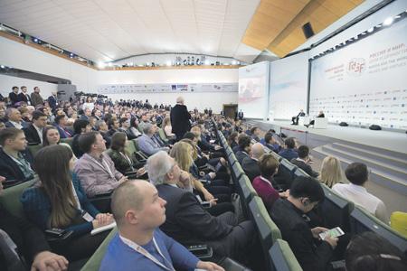 Участники Гайдаровского форума узнали много нового о ближайших планах правительства.Фото со страницы Гайдаровского форума в Twitter