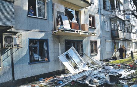 Города Донбасса продолжают обстреливать. Фото с сайта www.dan-news.info