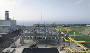 Пока эта компрессорная станция, от которой берет начало «Голубой поток», перекачивает российский газ в Турцию. Фото с сайта www.gazprom.ru