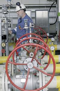 В Чехии создают запас газа: опасаются, что газопровод из Украины будет перекрыт.Фото Reuters