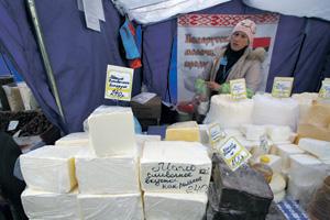 Белорусские продукты пока без особого труда доходят до российских прилавков.Фото PhotoXPress.ru