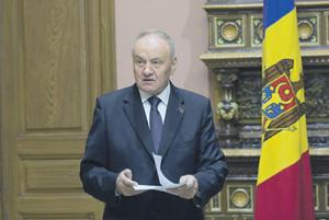 Президент Николае Тимофти – сторонник объединения Молдавии с Румынией.                Фото с сайта www.presedinte.md
