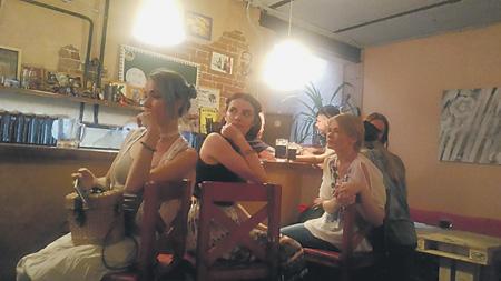 Молодые поэты Краснодара... Фото автора