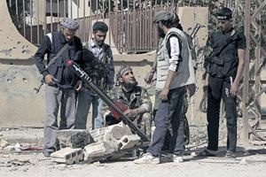 Сирийская свободная армия пытается диктовать условия. Фото Reuters
