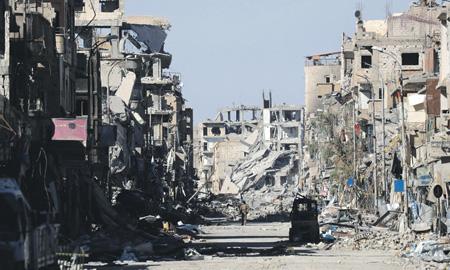 Опустошив Сирию, террористы отправились «осваивать» новые территории. Фото Reuters