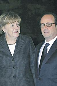 У Ангелы Меркель и Франсуа Олланда нет полной уверенности в успехе своей инициативы. Фото Reuters