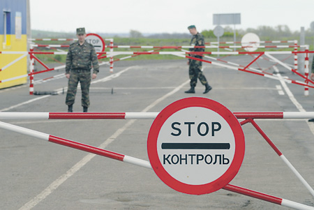 Украинскую границу россиянам непросто будет перейти. Фото PhotoXPress.ru