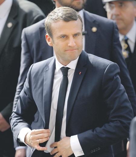 Новый президент Франции Макрон официально вступил вдолжность