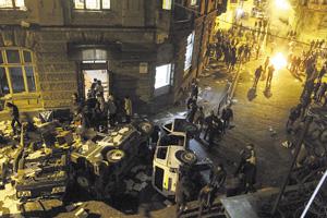 Во Львове тоже неспокойно.Фото Reuters