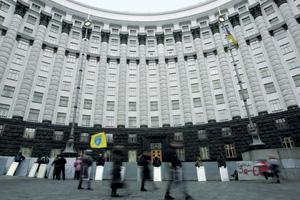 Здание Верховной Рады остается под охраной майдановцев.Фото Reuters