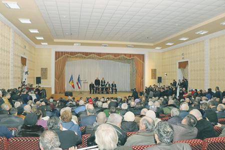 Совет представителей власти всех уровней Гагаузской автономии высказался против объединения с Румынией.Фото со страницы Ирины Влах в Facebook
