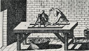 Машины, применявшиеся для изготовления денег на Монетном дворе во времена Ньютона.