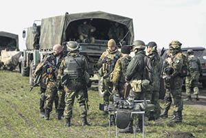 Вольница в украинских добровольческих батальонах, похоже, заканчивается.Фото Reuters