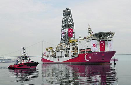 средиземное море, экономические зоны, морские границы, турция, турецкий поток, израиль